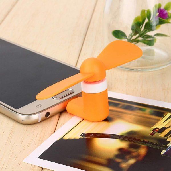 Mini Portable Mobile Phone Fan OTG USB