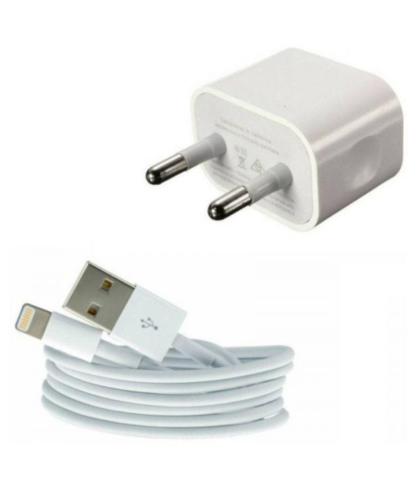 Apple Iphone Wall Charger With Charging Cable