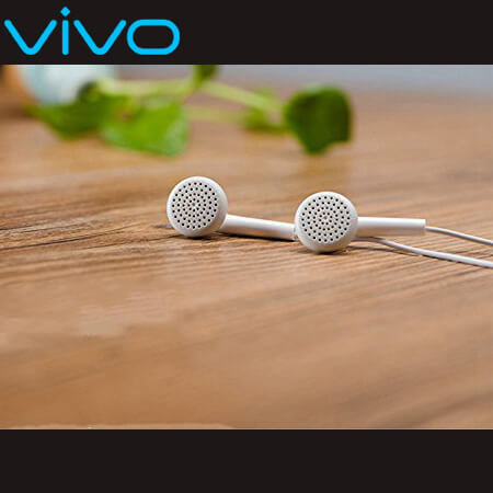 Vivo earphone handsfree high quality sound with mic