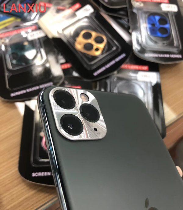 Camera Protection Alloy Lens Cap Metal Bumper