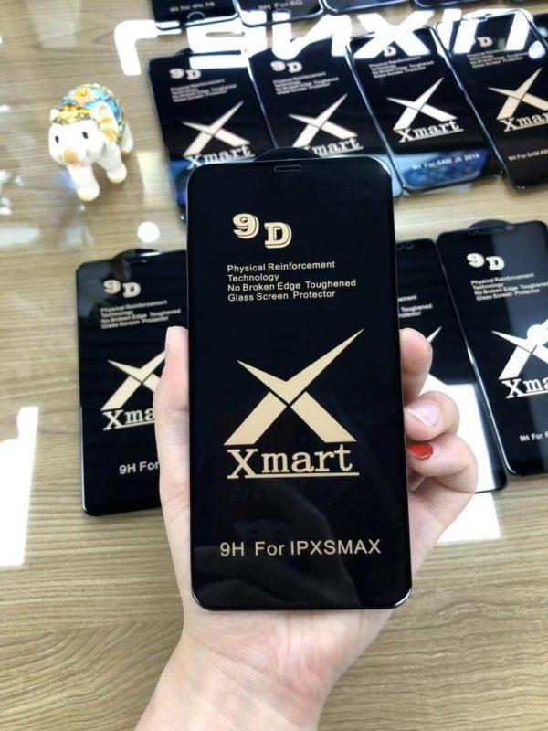 ORIGINAL XMART 9D Tempered Glass Full Coverage Full Glue