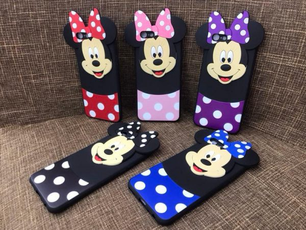 Cute Girlish Mickey Mouse Back Cover Case
