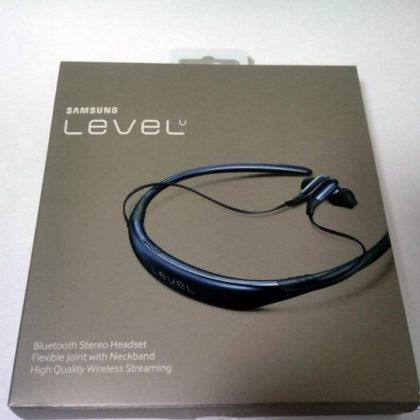 Level U Bluetooth Wireless Headset Earphone Handfree Neckband