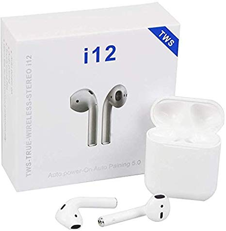 Apple Airpods Wireless Earphone All Smart Phones and Android Phones with Sensor #1