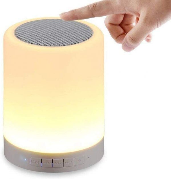Touch Lamp Portable Bluetooth Speaker with TF Card/Aux/Speaker Phone
