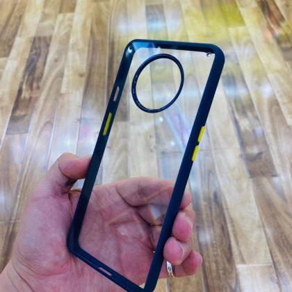Transparent Back Case with Soft Side Bumper