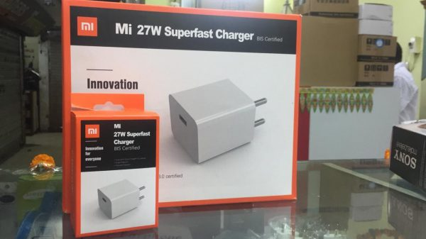 Xiaomi Mi 27W Sonic Charge Superfast charger