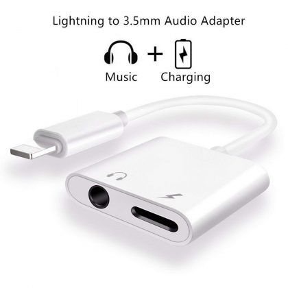 Lightning to 3.5mm Adapter
