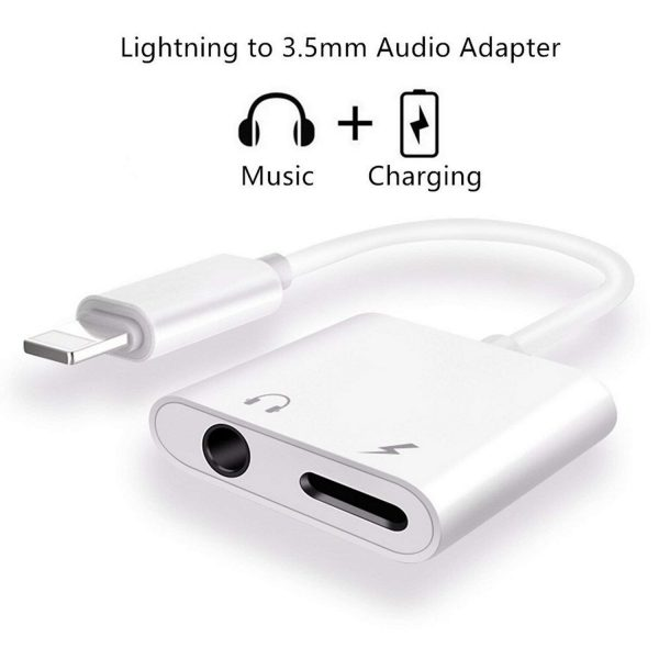 3.5mm jack to lightning connector