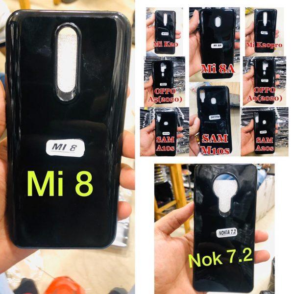Z-BLACK SHINE TPU Mobile Cover