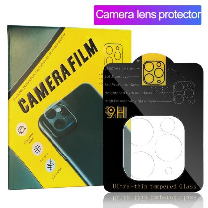 Back Camera Lens Protective Tempered Glass 9H Screen For Apple iPhone