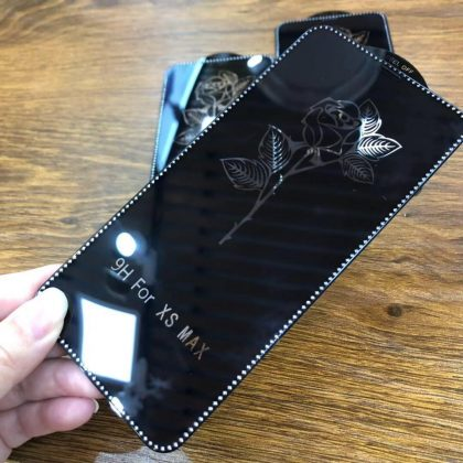 Diamond Phone Glass Tempered Full Glue 5d Screen Protector