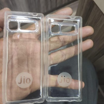 Transparent Back Covers for Jio