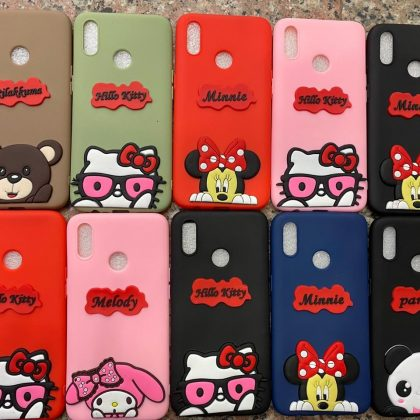 New Cartoon Silicon Cover