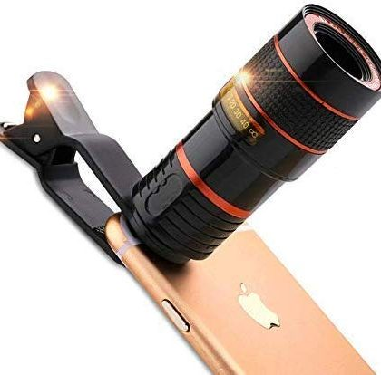 Mobile Camera 8X Zoom Wide Angle HD Telescope Lens