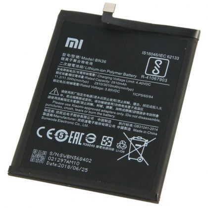 Mi A2 Battery BN36 3010mAh