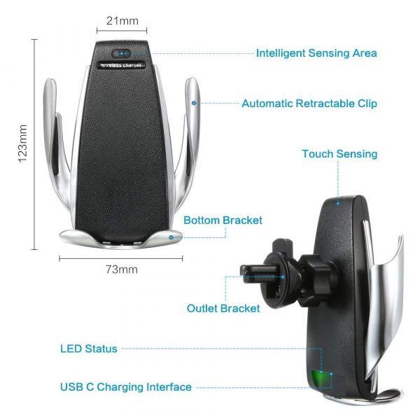 new Wireless Automatic Sensor Car Phone Holder