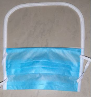 Disposable 3 Ply Face Mask with Eye Protection