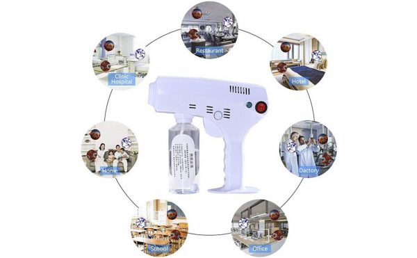 Blue-ray Disinfectant Spray Machine