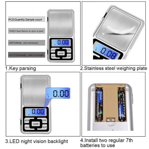 best pocket weighing scale