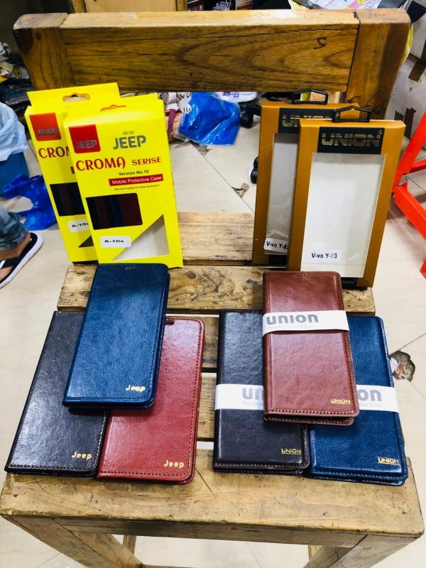 Leather Mobile Flip Cover