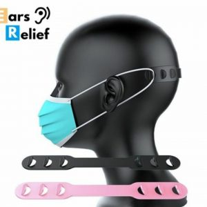 face mask strap holder