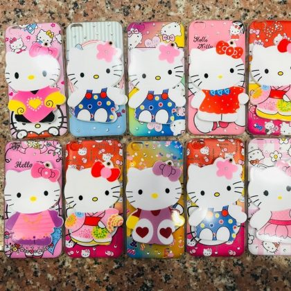 Mirror Kitty Phone Cover for Girls