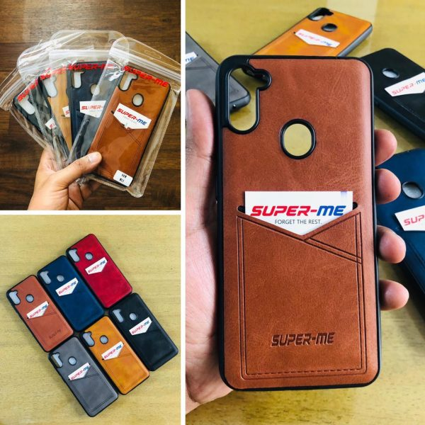 supreme leather mobile cover