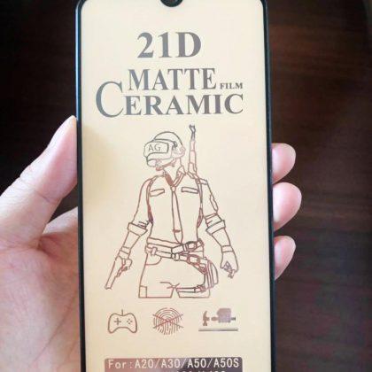 21D Ceramic Matte Tempered Glass