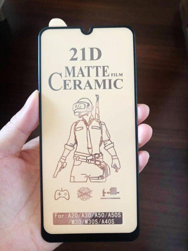 21d ceramic matte glass
