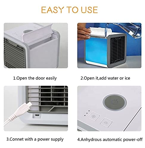 how to use mini cooler