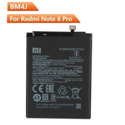 Battery For Xiaomi BM4J Redmi Note 8 Pro 4500mAh