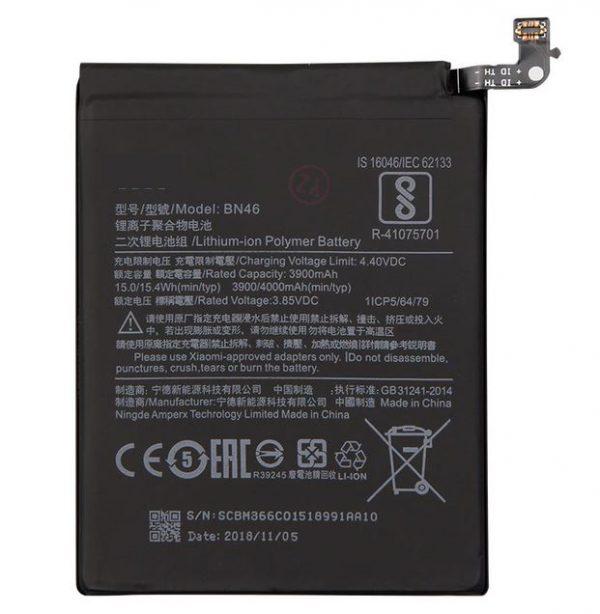 Battery-For-Xiaomi-BN46-Redmi-7-4000mAh