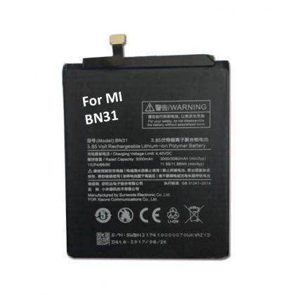 For Xiaomi BN31 Mi Redmi Y1 / Y1 Lite / A1 / 5X 3080 mAh