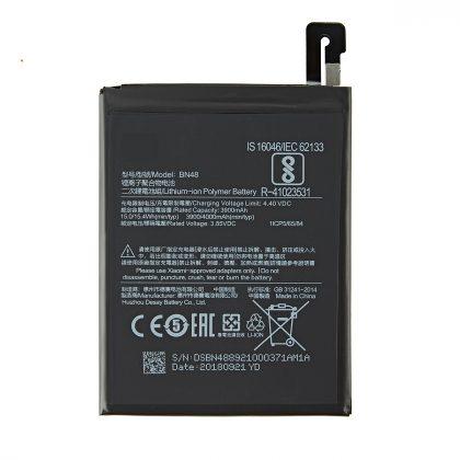 For Xiaomi BN48 Redmi Note 6 Pro 4000mAh