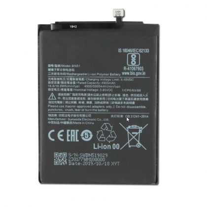 For Xiaomi Redmi 8A Battery BN51 – 5000 mAh
