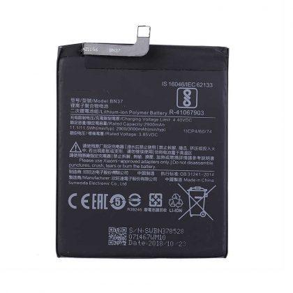 Battery For Xiaomi BN37 Redmi 6/6A 3000mAh