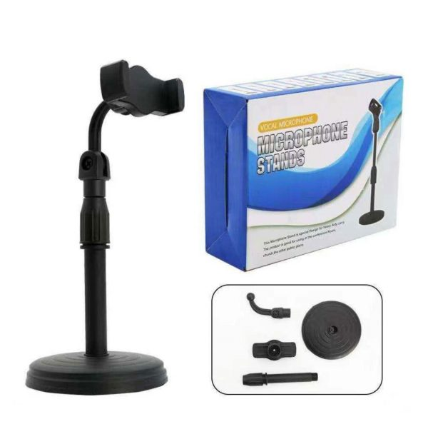 Microphone Stand Mobile Holder